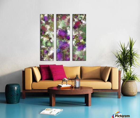 Threshold Split Canvas print