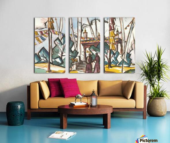 makers Split Canvas print