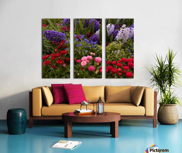 Spring Garden  Split Canvas print