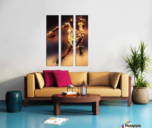 Kobe Bryant Best Moments 8 Split Canvas print