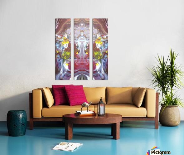 mirror26 Split Canvas print