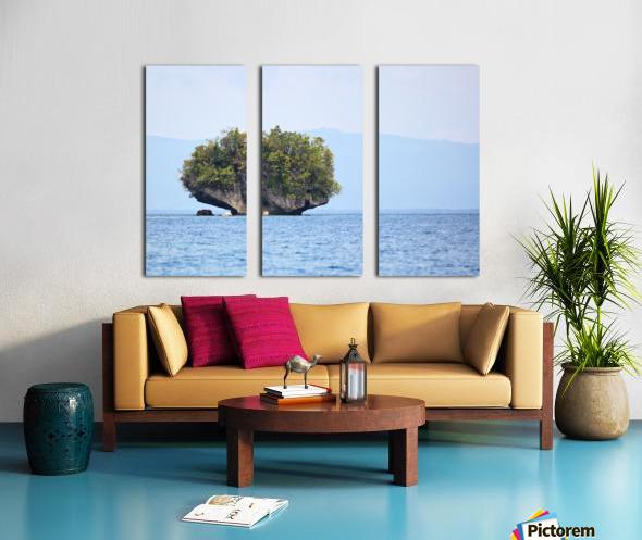 Rock Island Split Canvas print