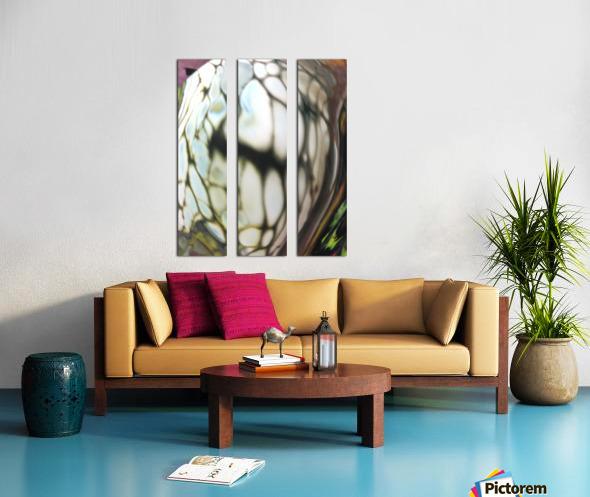 fractral Split Canvas print