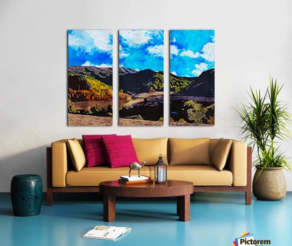 Beautiful Nature Object 12 Split Canvas print