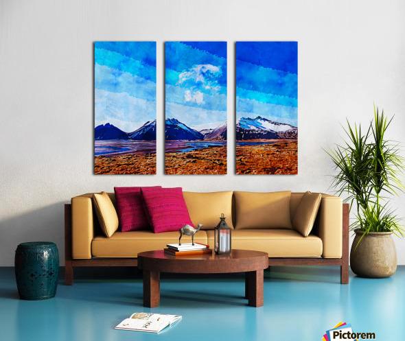 Nature View  Split Canvas print