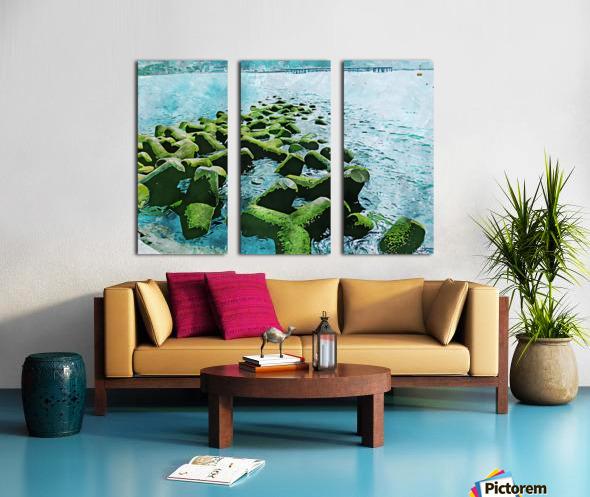 Wall Nature Decoration 7 Split Canvas print
