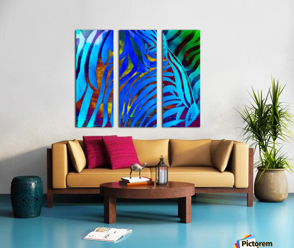 Jungle Fever Split Canvas print