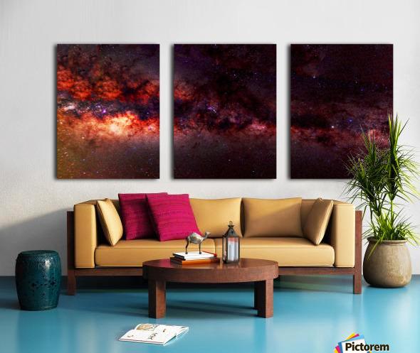 Hymn of the Cosmos Split Canvas print