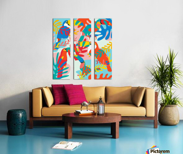 TouCan Do it Split Canvas print