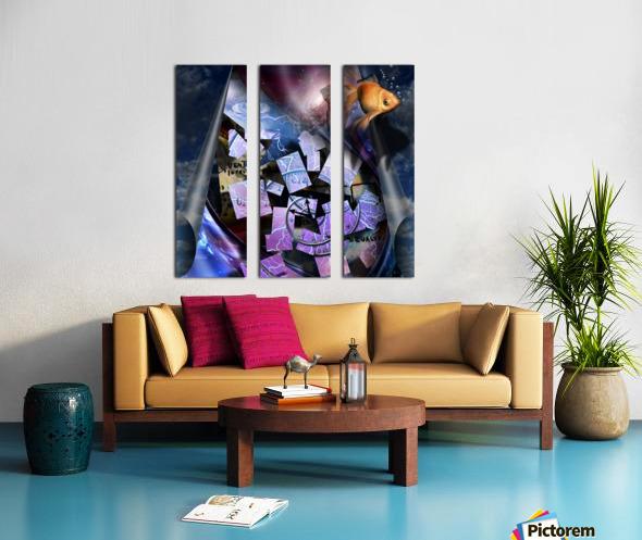 In a Dream Split Canvas print