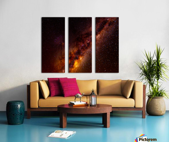 Galactic Core Explosion Split Canvas print