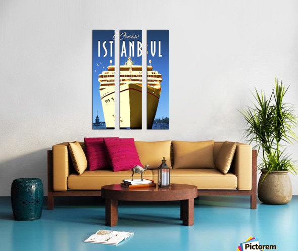 Cruise Istanbul Split Canvas print