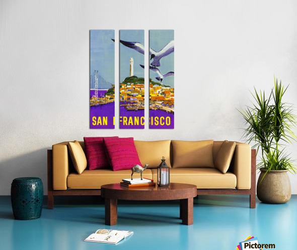 San Francisco Bay Split Canvas print