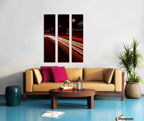 DVP Spectrum 3 Split Canvas print
