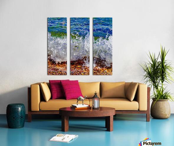 Millennium Splash Split Canvas print