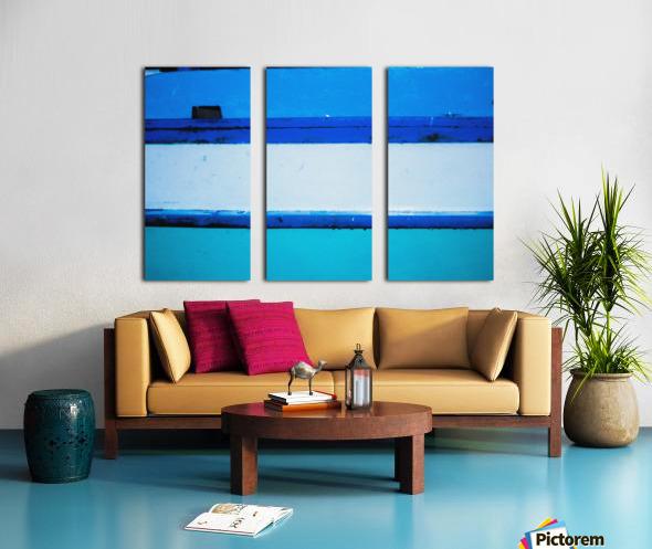 Boat - LXX Split Canvas print