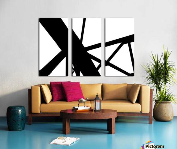 Bridge - XXIII Split Canvas print