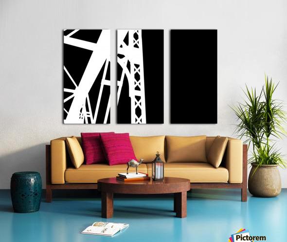 Bridge - XXIV Split Canvas print