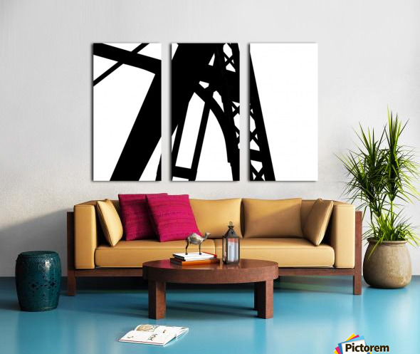 Bridge - XXVI Split Canvas print