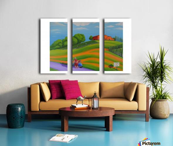 Vino In Vendita Split Canvas print