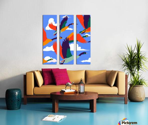 High On Life Split Canvas print