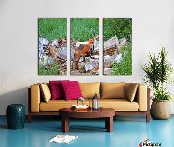 Time To Go Hunting Split Canvas print
