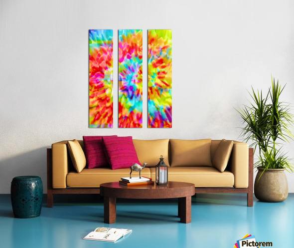 Fractal Art Split Canvas print