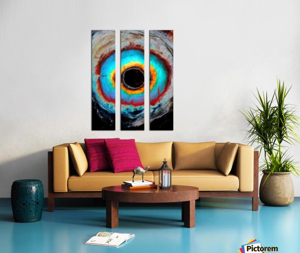 Glimpse of Black Hole No.1 Split Canvas print