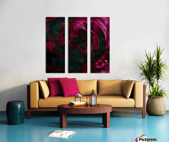 Escapades In Depths Split Canvas print