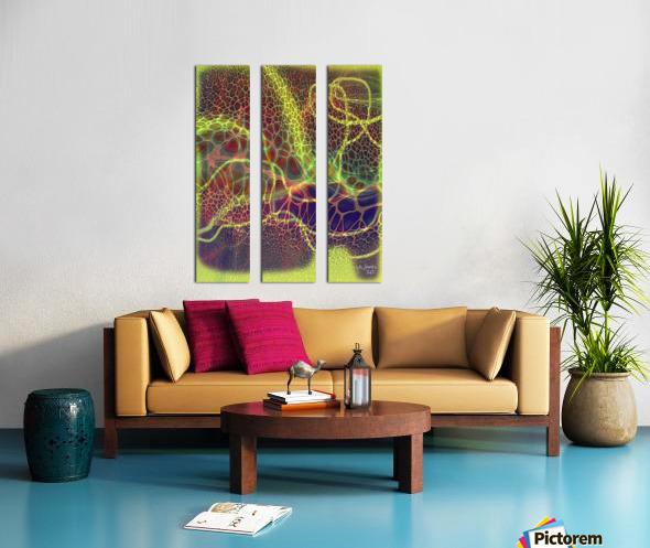 ABSTRACTART07 Split Canvas print