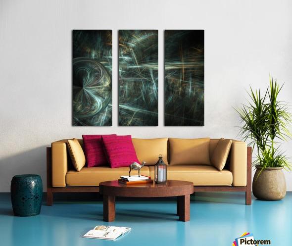 Another world Split Canvas print