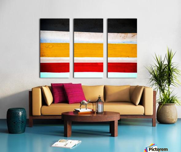Boat - LXXVI Split Canvas print