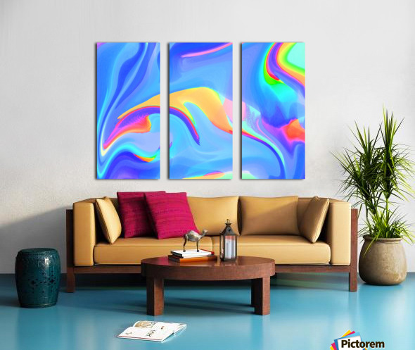 wallpapers Split Canvas print
