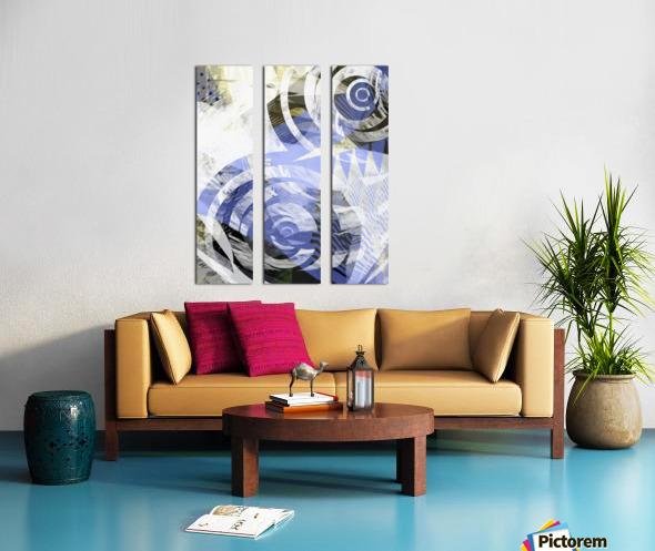 zebra Split Canvas print