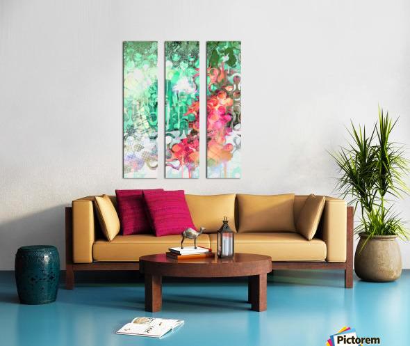 Veritas Split Canvas print