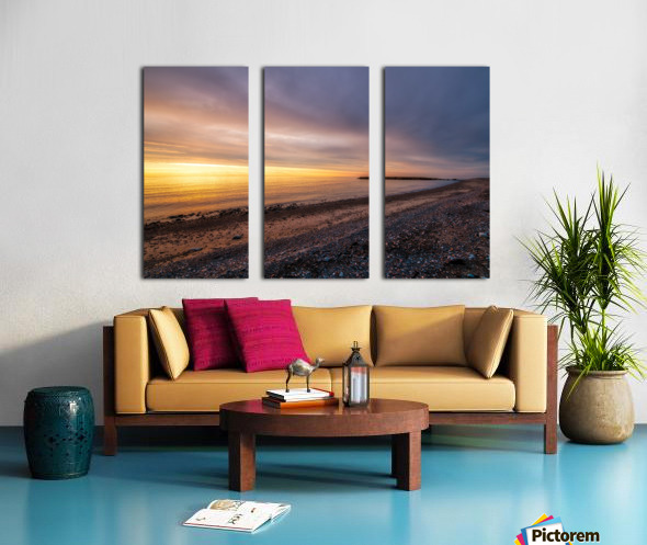 Glowing at la Bloc - CBHNP Split Canvas print