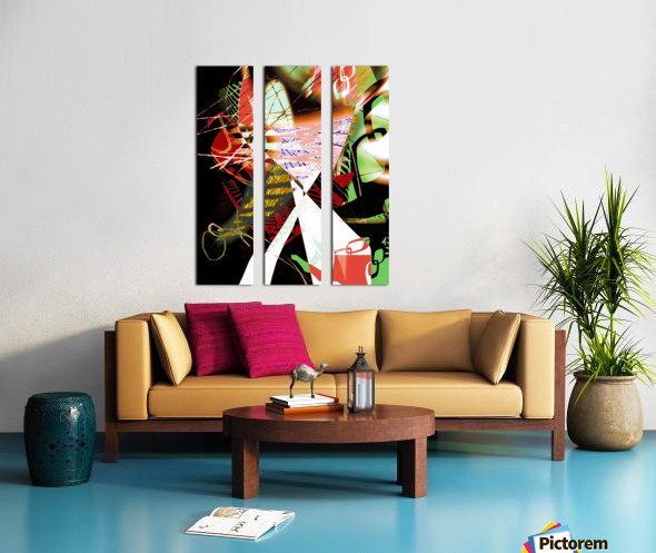 sava2 Split Canvas print