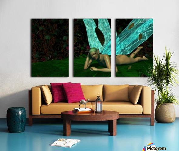 Resting Fae Split Canvas print