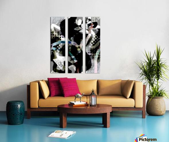 j A Z U Split Canvas print