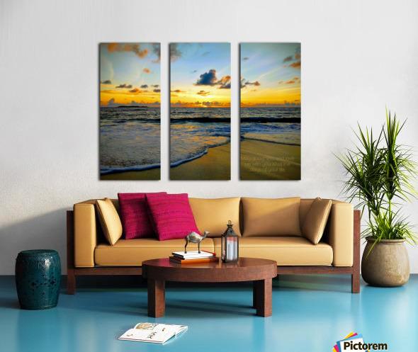 Goodness_and_love_bahamas Split Canvas print