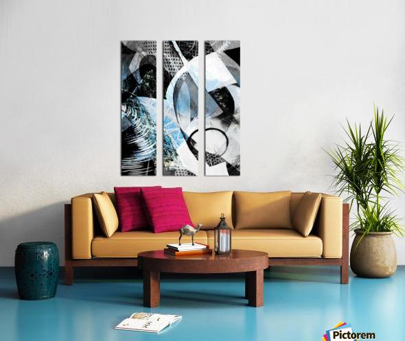 t  a r a Split Canvas print