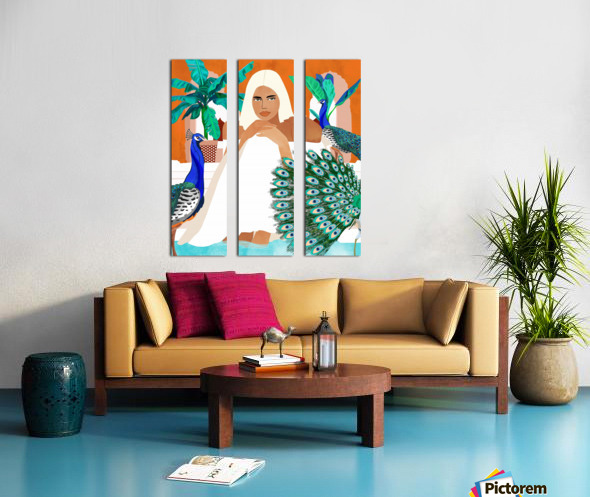Indian Vacay Split Canvas print