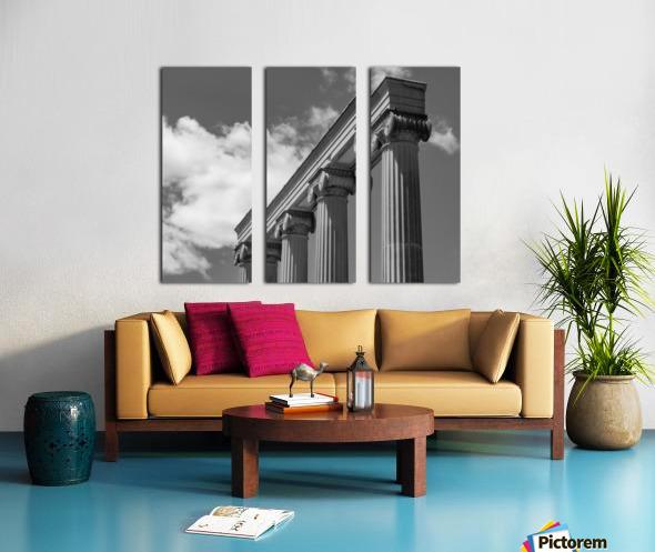 KIng West Columns Split Canvas print