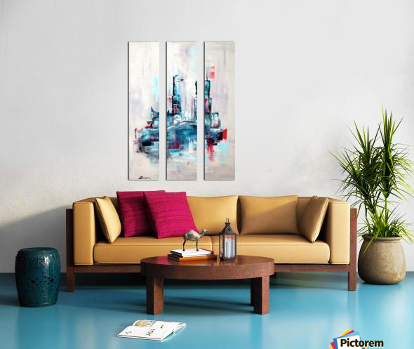 Uptown XVIII Split Canvas print