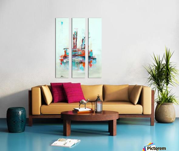 Uptown XII Split Canvas print
