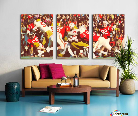 Saturday Afternoon In Lincoln Split Canvas print