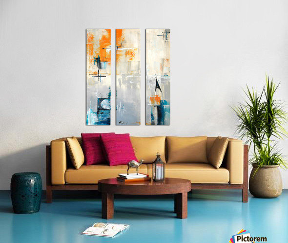 MCM urban II Split Canvas print