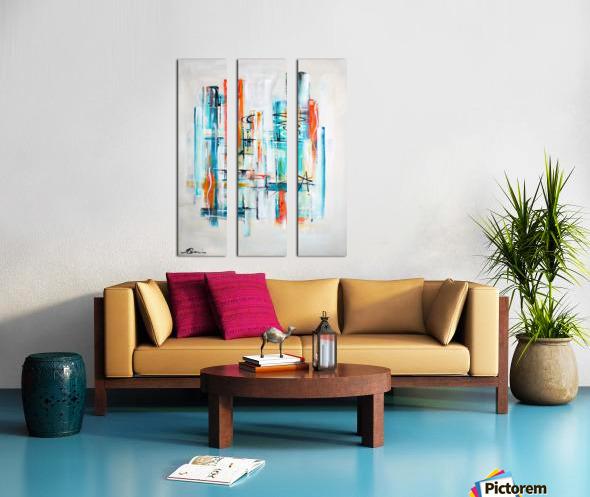 Moondance Split Canvas print