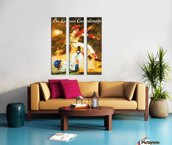 1972 St. Louis Cardinals Split Canvas print