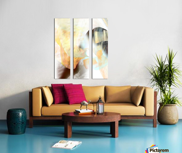 Z A  Z A Split Canvas print